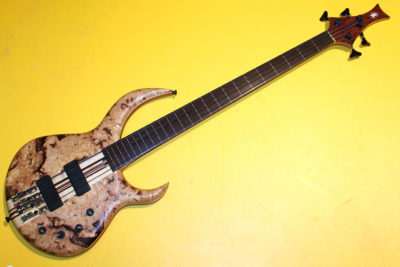 Stephen J Sukop Fretless Custom